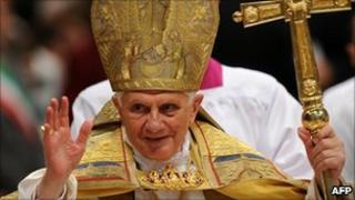 Pope Benedict XVI (20/11/10)