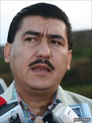 File photo of Silverio Cavazos Ceballos from 2006