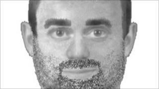 Computer image of man