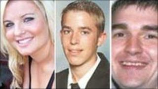 Jessica Foxley, Tom Petty and Philip Wright (Pic:Lancashire Police)