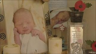 Pictures of baby Logan