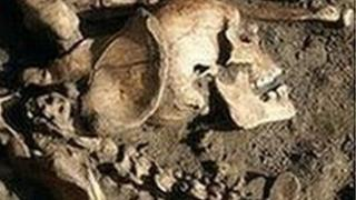 Skeleton unearthed in York