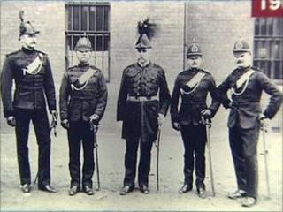 Royal Irish Constabulary officers