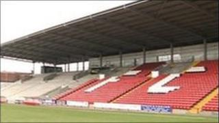 Rotherham United's former home, the Millmoor Stadium