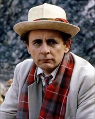 Sylvester McCoy in the Dr Who adventure Time and the Rani