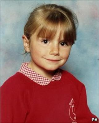 Sarah Payne in her school uniform