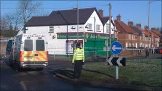 The store in Kingstanding where a man was found dead with stab wounds