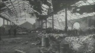 The school on Durning Road was bombed in 1940