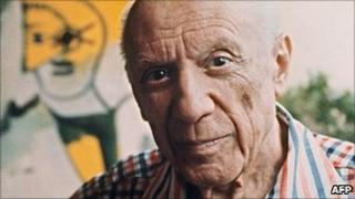 Spanish painter Pablo Picasso (file image from October 1971)