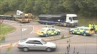 Honingham crash on the A47, which prompted a campaign for changes to the junction