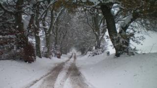 Snow in the Borders