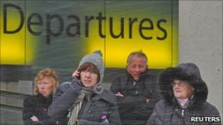 Passengers at Gatwick