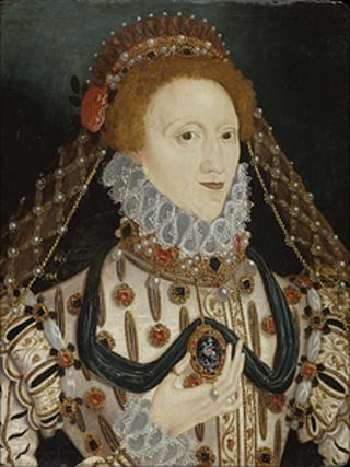 Queen Elizabeth I (1533–1603) Copyright: UK Government Art Collection