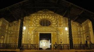 The Jesuit church of Concepcion, Chiquitania, Bolivia, November 2010
