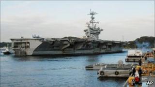 USS George Washington (24 November 2010)