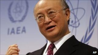 IAEA chief Yukiya Amano - 2 December 2010