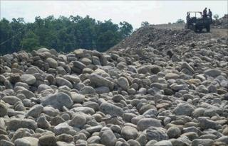 Stones and boulders