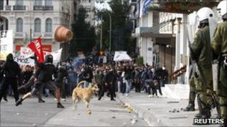 Protests in Athens (6 Dec 2010)