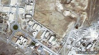Natanz uranium enrichment plant