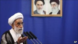 Ayatollah Ahmad Jannati, August 2010