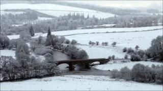 Snow in borders