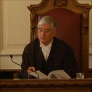 Guernsey's Bailiff Sir Geoffrey Rowland