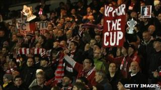 FC United fans