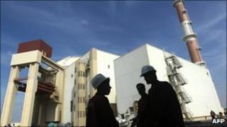 Iran's Bushehr nuclear power plant, file pic