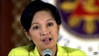 Gloria Arroyo (file image)
