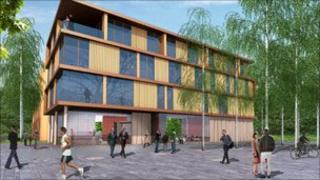 Training hotel. Pic: Albyn Housing Society/Calman Trust
