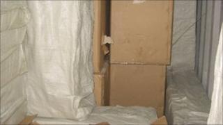 Cigarettes found hidden between mattresses