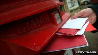 Post box, Getty