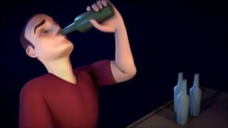 Dorset Police drinking animation