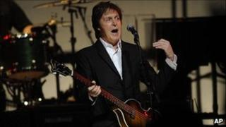 Sir Paul McCartney at Harlem's Apollo Theater