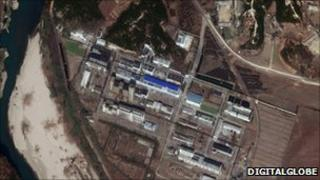 Yongbyon nuclear site in North Korea