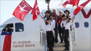 Virgin Atlantic launch