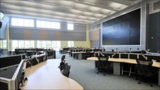 West Midlands fire control centre