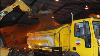 Somerset gritters