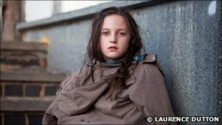 Teenage girl (Copyright Lawrence Dutton. Image modelled for the Children's Society)
