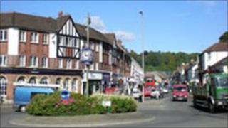 Caterham town centre