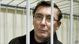 Ukraine former Interior Minister Yuri Lutsenko in court, 27 Dec 10