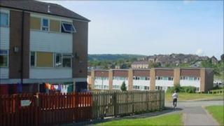 Plas Madoc housing estate