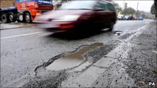 Pothole (generic image)