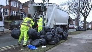 Casual bin collectors in Birmingham