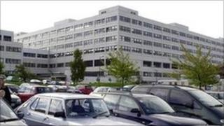 The John Radcliffe Hospital in Oxford