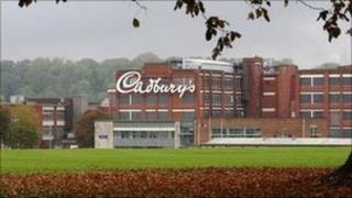 Cadbury plant in Keynsham
