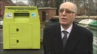Conservative city councillor, Ray Bloxham