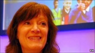 Sharon Shoesmith at the Blackpool conference
