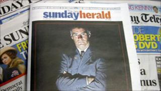 Sunday Herald newspaper