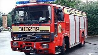 Cumbria fire engine